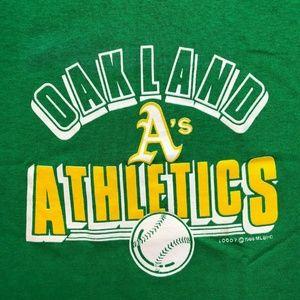 Vintage Deadstock 1988 Oakland Athletics MLB Base